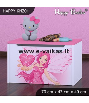 Dėžė žaislams Happy Babies KNZ01