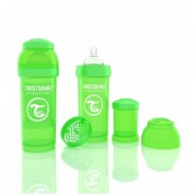 TWISTSHAKE buteliukas Anti-Colic 260ml Green