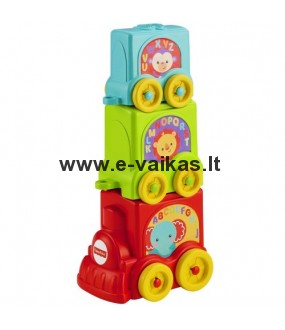 Fisher Price traukinukas - piramidė CBP38