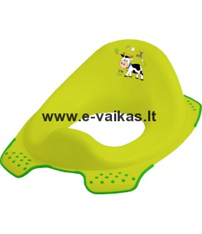 OKT KIDS mokomasis dangtis klozetui Funny farm green meadow 8723-274