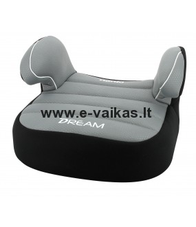 NANIA automobilinė kėdutė-busteris Dream Luxe Grey