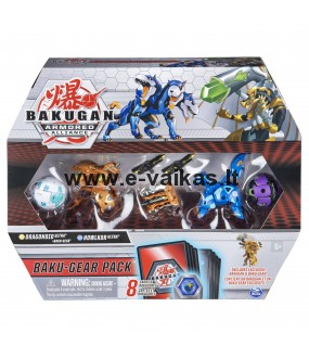 BAKUGAN rinkinys Battle Gear, 2 serija asort., 6056037