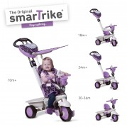 SMART TRIKE triratukas violetinis Dream, 1590700