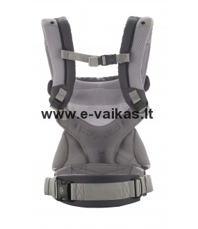ERGOBABY nešioklė 360 Cool Air Carbon grey, BC360PBLKGRY