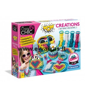 CLEMENTONI CRAZY CHIC WOW Creations, 50642