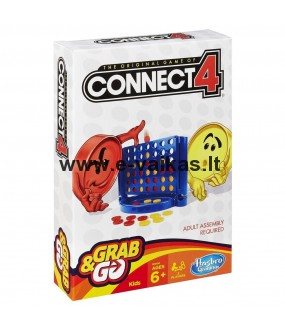 HASBRO GAMING žaidimas Connect 4 Grab And Go, B1000619