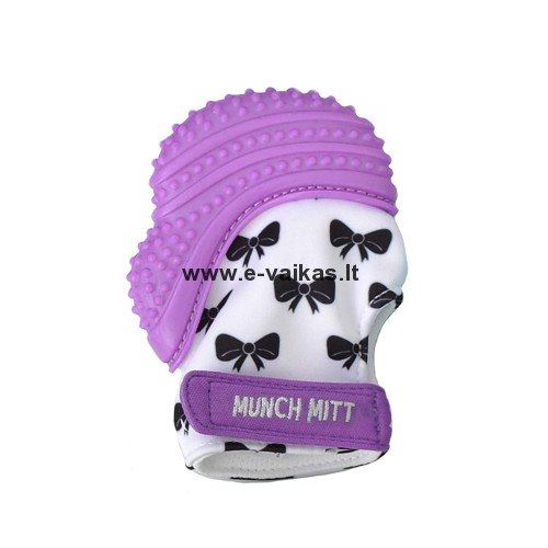 MUNCH BABY kramtukas Purple Bows MM10PB